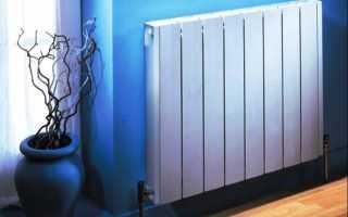 Установка батарей отопления с нижним подключением