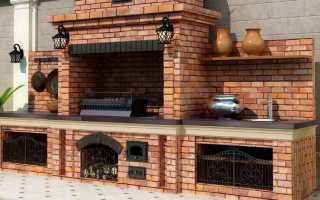 Как сложить уличную печь для дачи своими руками