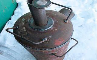 Виды печей Бубафоня: с водяной рубашкой и постройка своими руками