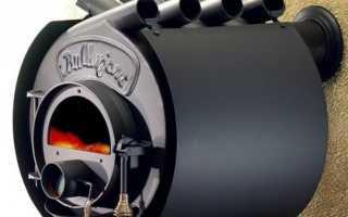 Устройство печей Булерьян на дровах — принцип работы