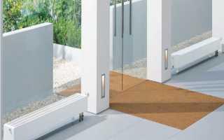 Какие радиаторы отопления подходят для панорамных окон