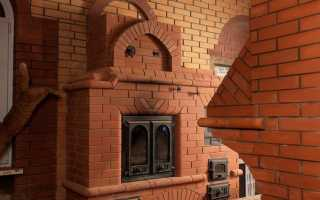 Как сделать печь из кирпича на даче — чертежи и проекты
